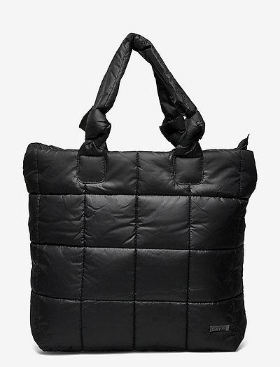 Day RE-Q XL Puffy Bag - tote bags - black