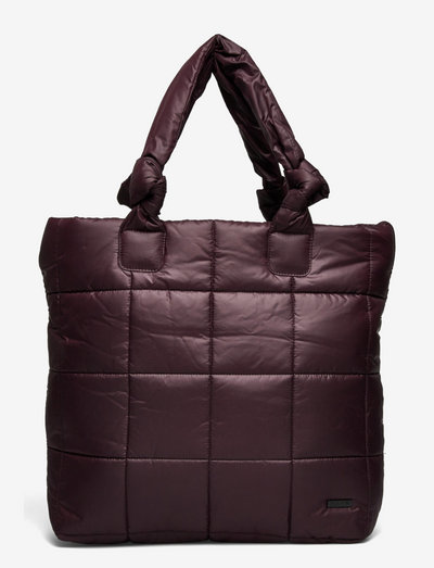 Day RE-Q XL Puffy Bag - tote bags - cabernet