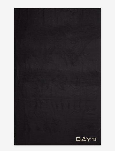 Day Sporting Towel - rantapyyhkeet - black