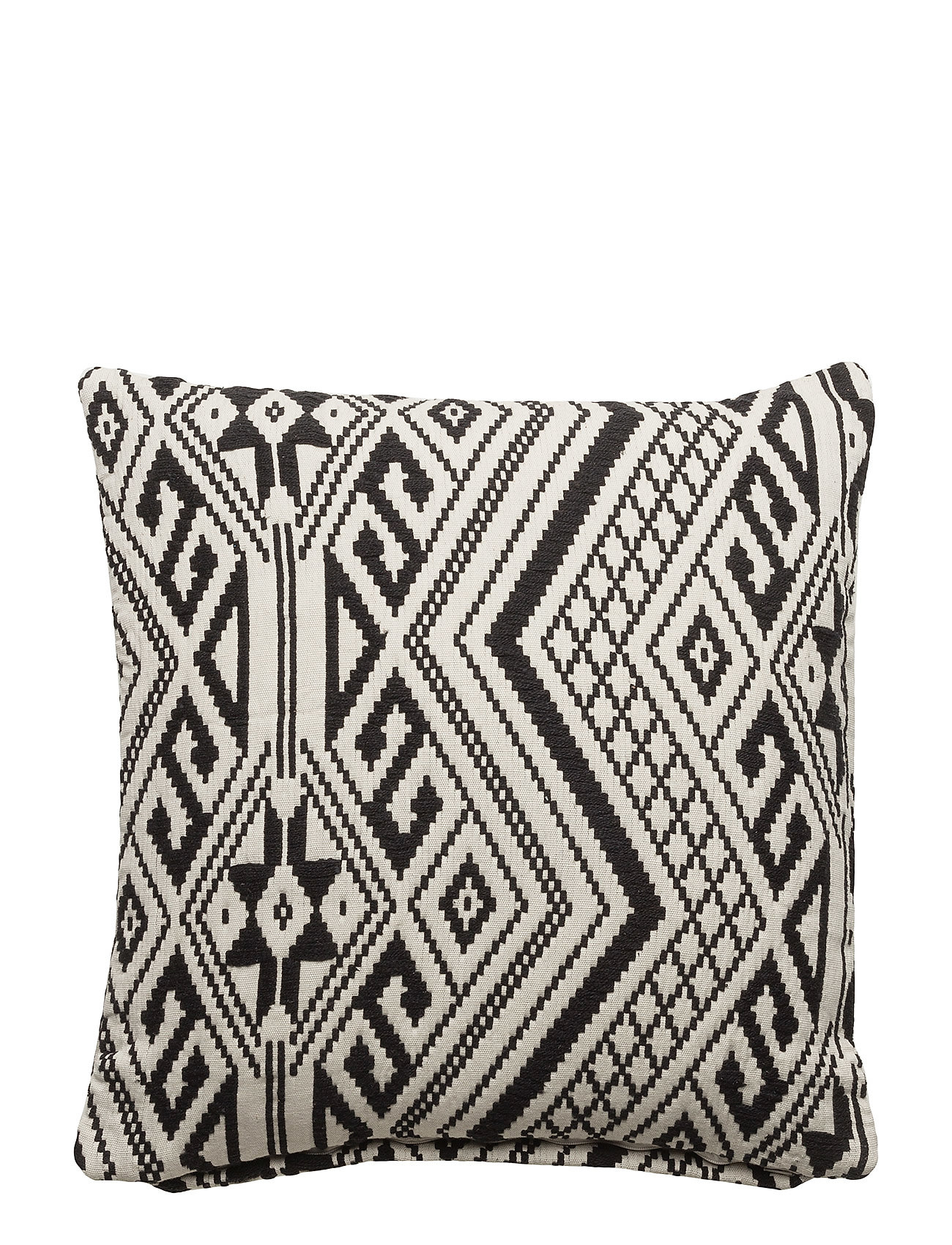 DAY Home Day Cushion cover Jacquard - BLACK/WHITE