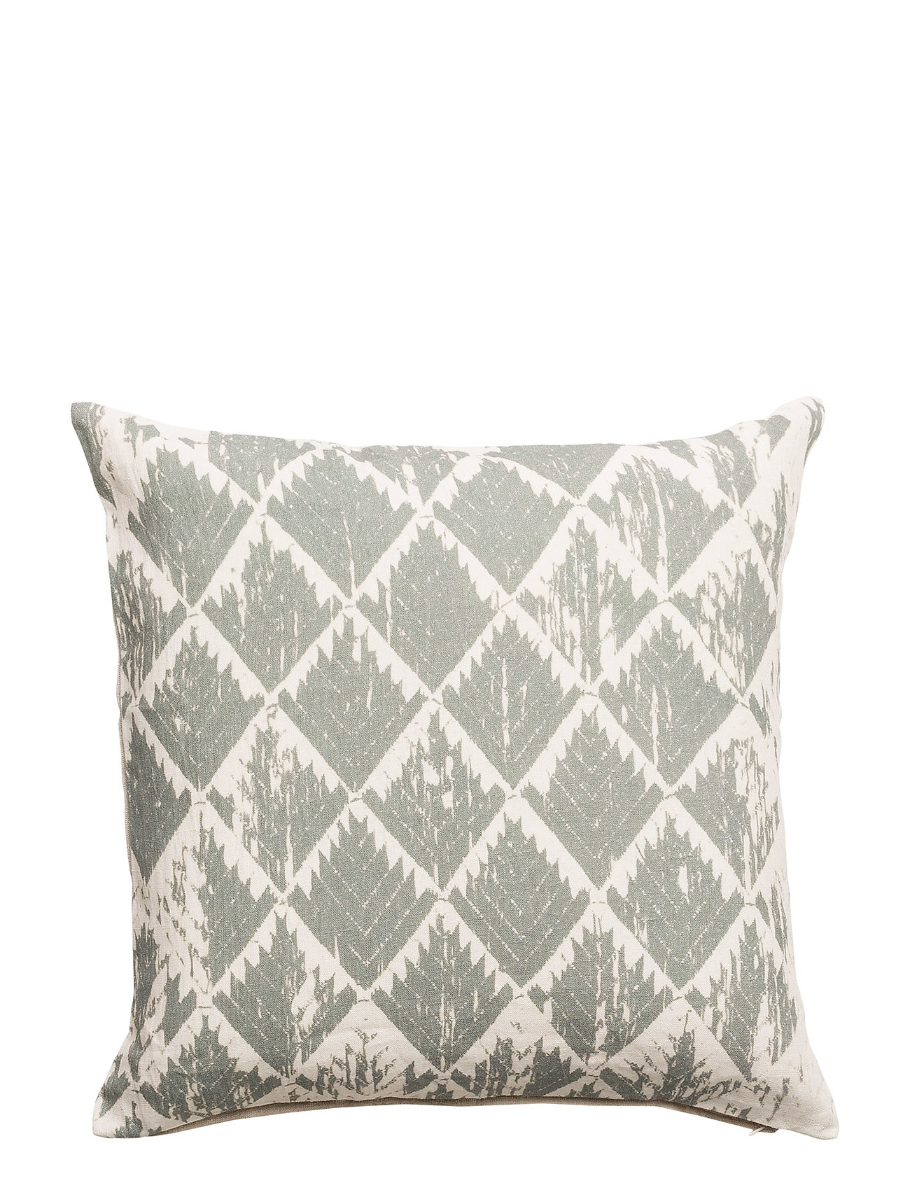 DAY Home Day Little Ikat, Cushion Cover - GREEN/DUSTY PINK