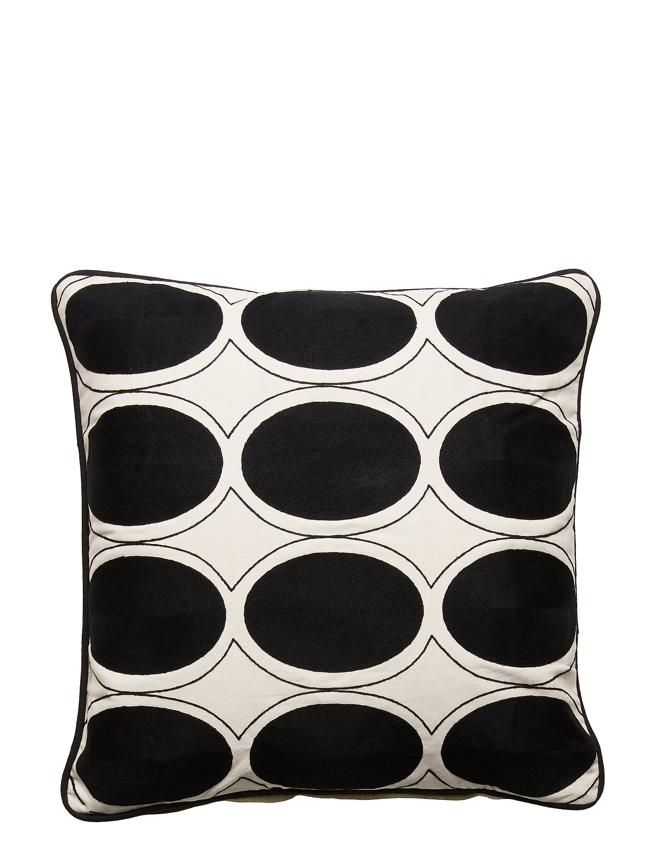DAY Home Day Ovale Cushion Cover - BLACK/WHITE