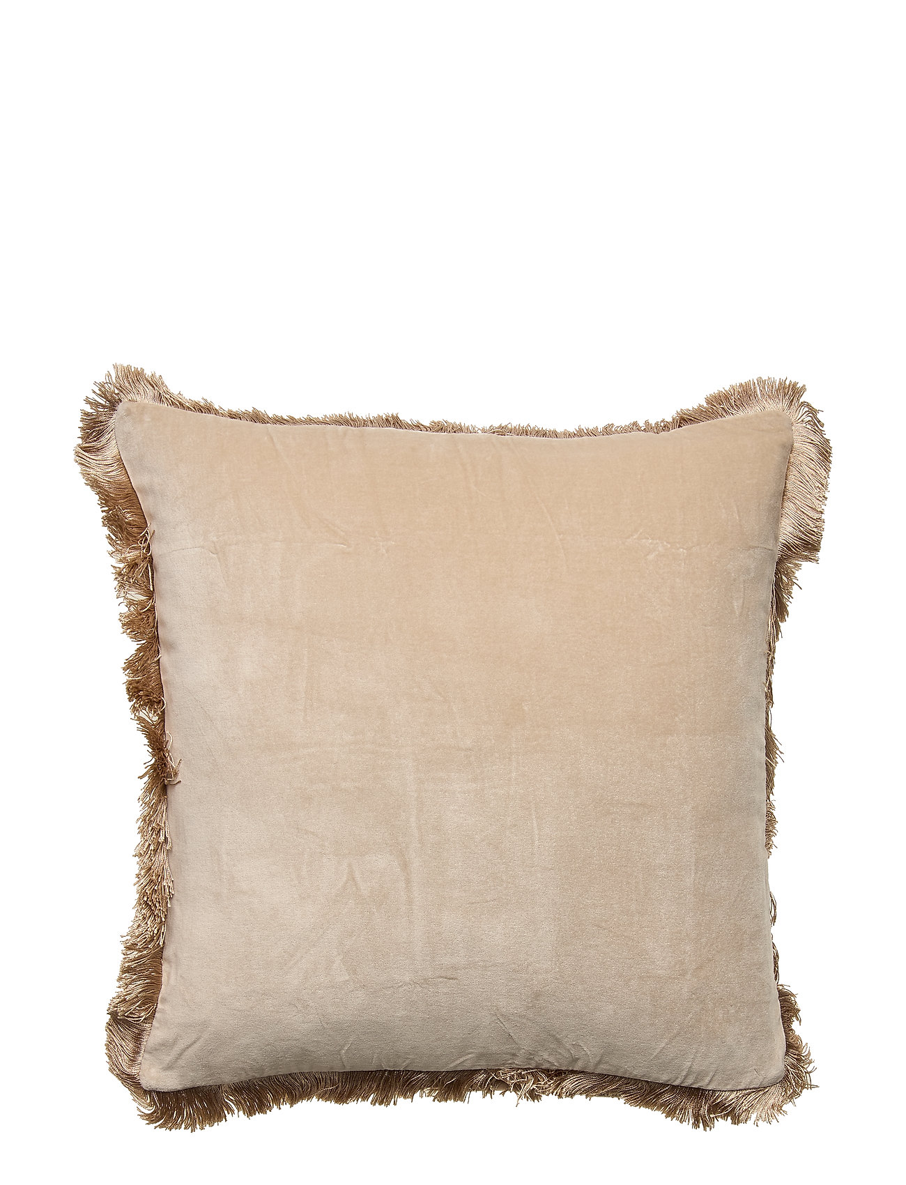 DAY Home Day Classic Velvet Cushion Cover Concrete with Fringes - CONCRETE