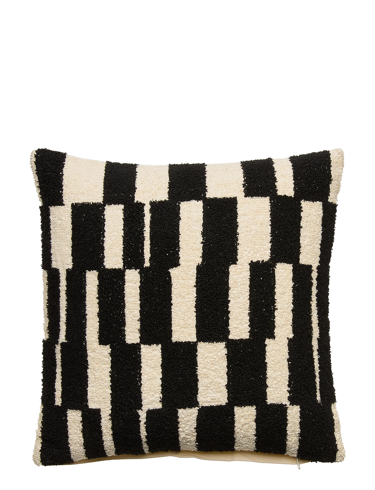 DAY Home Day Check Mate Cushion Cover - NAT. WHITE/BLACK