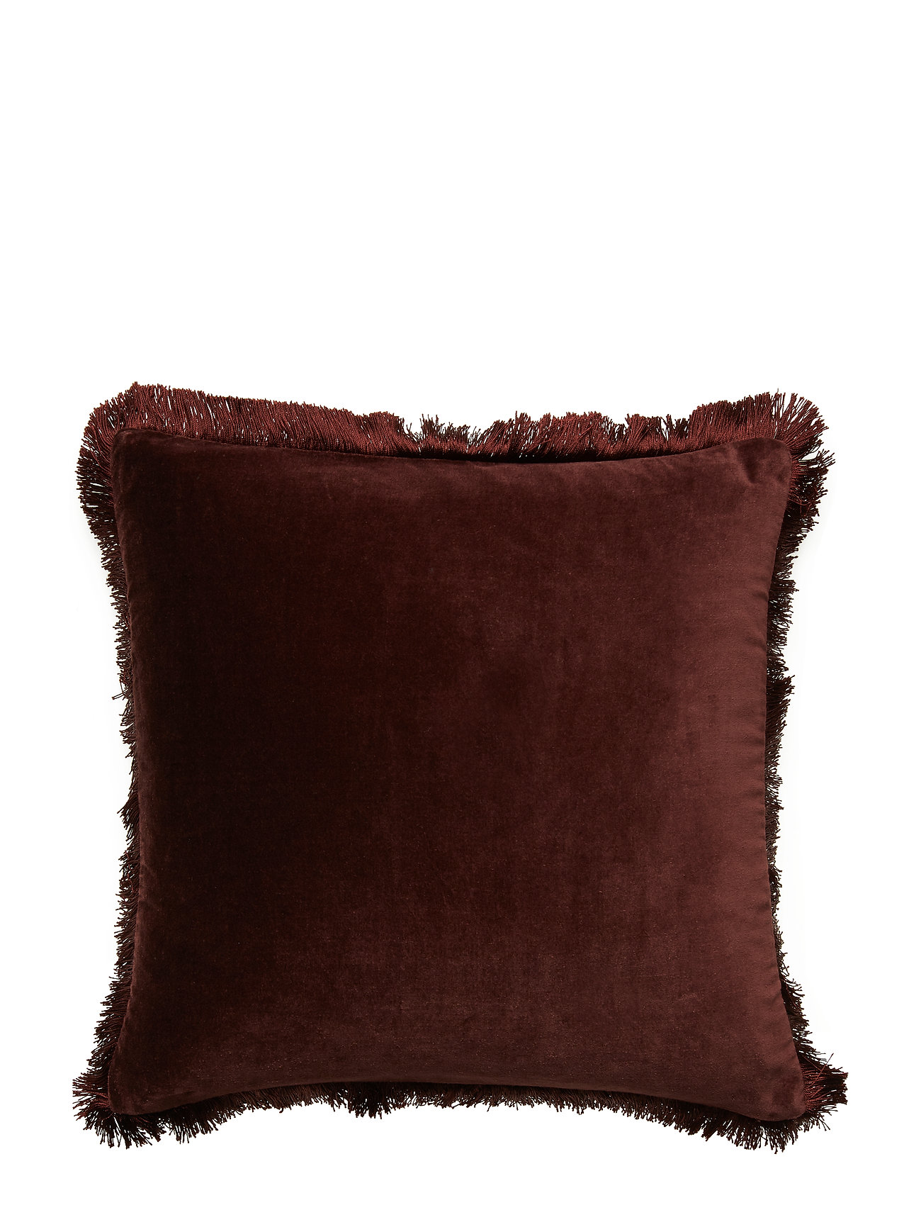 DAY Home Day Classic Velvet Cushion Cover Deep Wine Fringes - DEEP WINE