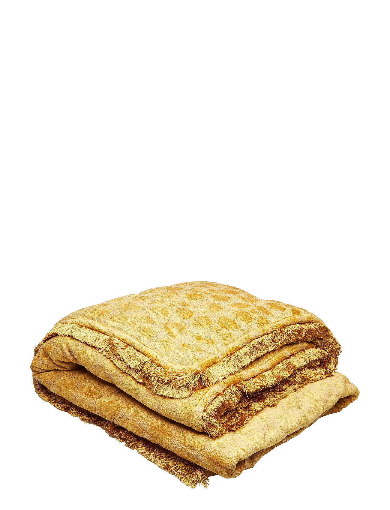 DAY Home Day Mahal Gold Blanket with Fringes - GOLD