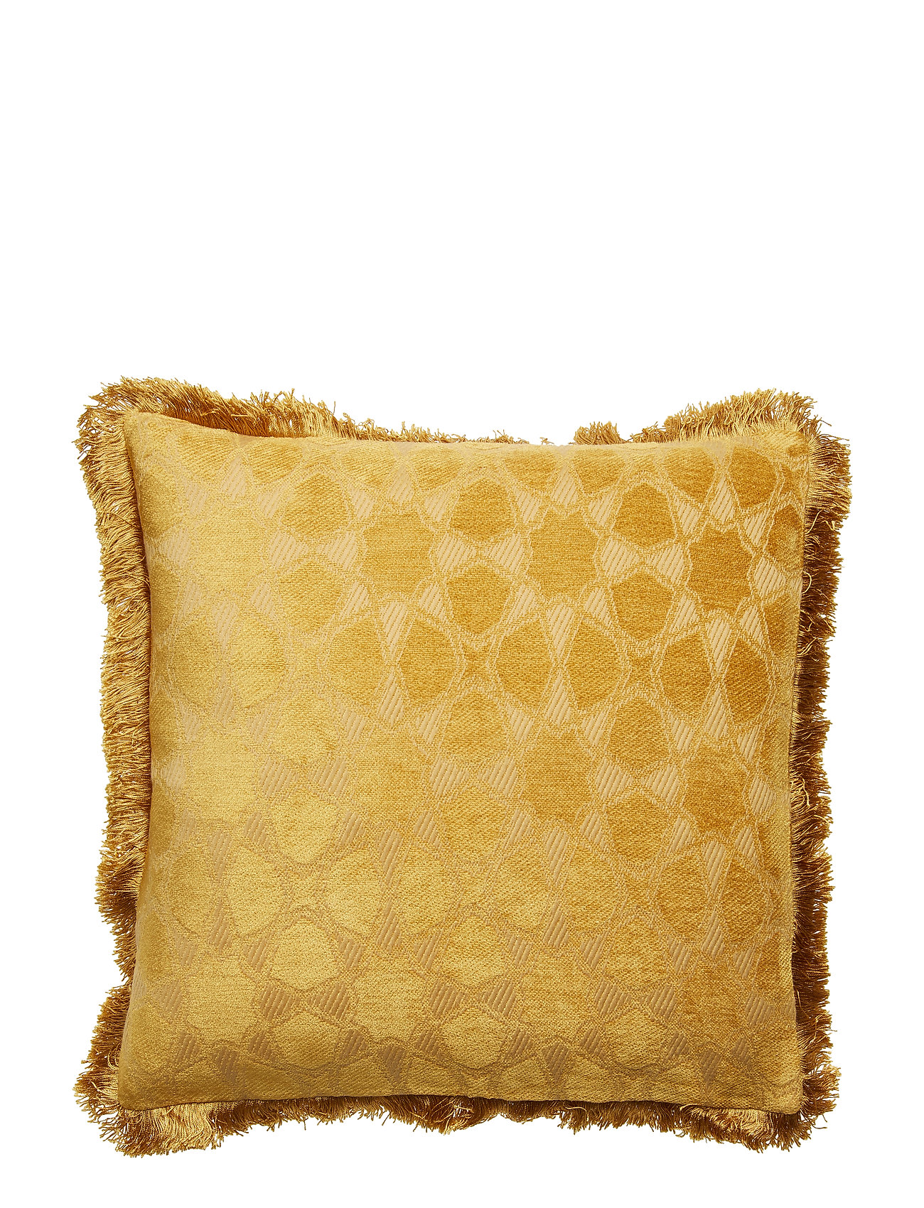 DAY Home Day Mahal Gold Cushion Cover Fringes - GOLD