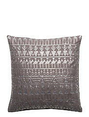 Day Ethenic Foil Cushion Cover - HAZE