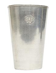 Lassi Vase Carved - SILVER FINISH