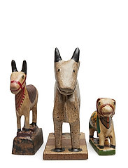 Day Animals, set of 3pcs - MULTI