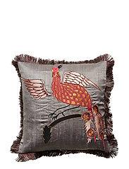 Day Bird of Paradise Cushion Cover Tumberic - GREY/PINK