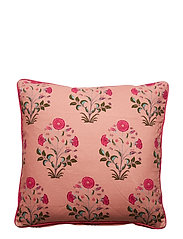Day Samode Rose Printed Cushion Cover - CITY PINK