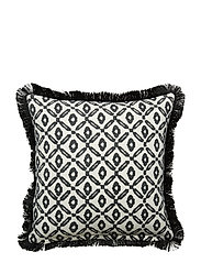 Day Printed Cushion Cover - BLACK/WHITE, PRINTED