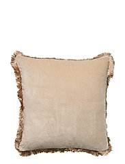 Day Classic Velvet Cushion Cover Concrete with Fringes - CONCRETE