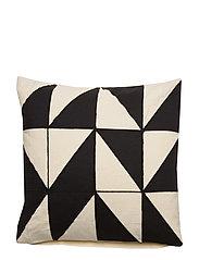 Day Chess Cushion Cover - BLACK/WHITE