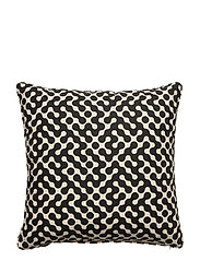 Day Blob Cushion Cover - BLACK/WHITE