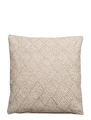 Symetric Pearl Cushion Cover - RAINY /SILVER