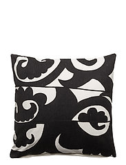 Mehmet Cushion Cover - NAT. BLACK & WHITE