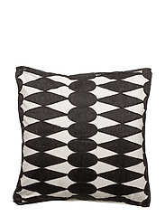 Iman Cushion Cover - BLACK/ WHITE