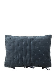 Nuovo Velvet Quilted Cushion Cover - NIGHT SKY