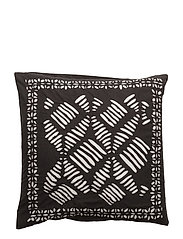 Strictly Applique, Cushion Cover - BLACK/WHITE