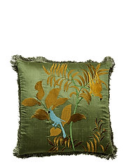 Day Papagallo Cushion Cover with Fringes - BAHCE