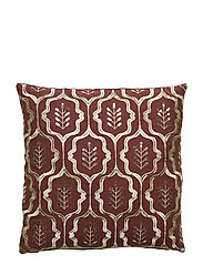 Day Columbine Cushion Cover - DEEP WINE