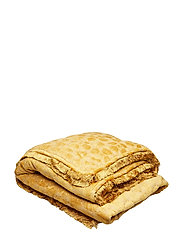 Day Mahal Gold Blanket with Fringes - GOLD