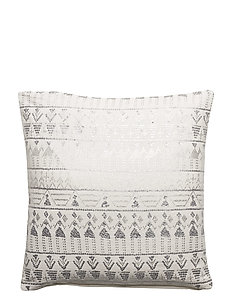 Day Ethenic Foil Cushion Cover - WHITE