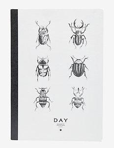 Day Notebook - wystrój domu - white/ black