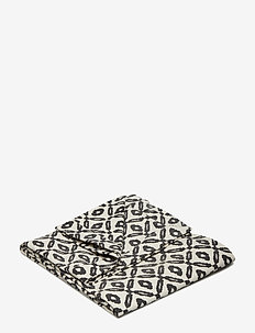Day Printed Canvas blanket - viltit - black/white, printed