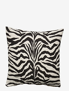 Day Cushion Zebra Linen/Canvas - kuddfodral - zebra, printed