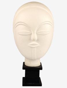 Day Gladiolus Headstand - skulpturer & porselensfigurer - black/offwhite