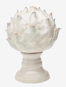 Day Stoneware Artichoke Small - skulpturer & porselensfigurer - white