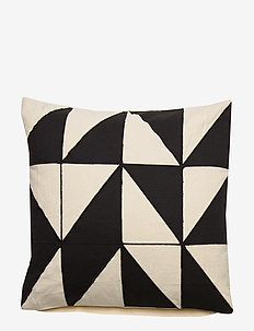 Day Chess Cushion Cover - poszewki na poduszki ozdobne - black/white