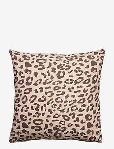 Day Cushion Cover Leopard 2hand - kuddfodral - leopard print