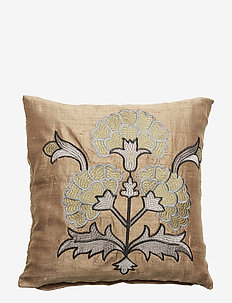 Day Love Flower Cushion Cover - MOSS