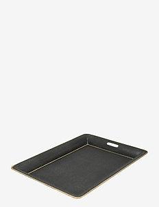 Day Formal Tray - serveringsbrett - black/ gold