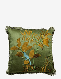 Day Papagallo Cushion Cover with Fringes - kussenovertrekken - bahce