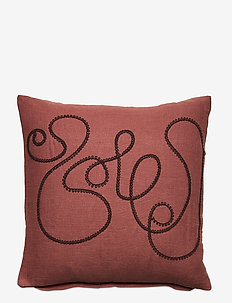 Day Doodle Cushion Cover Coco - pudebetræk - brown
