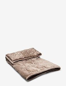 Velvet Quilted Plaid - blankets - raid