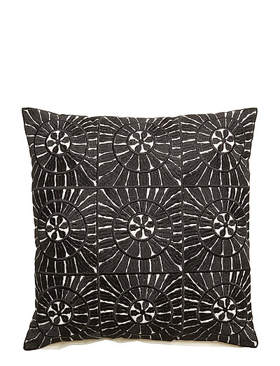 Day Yasmina Cushion Cover - BLACK/WHITE