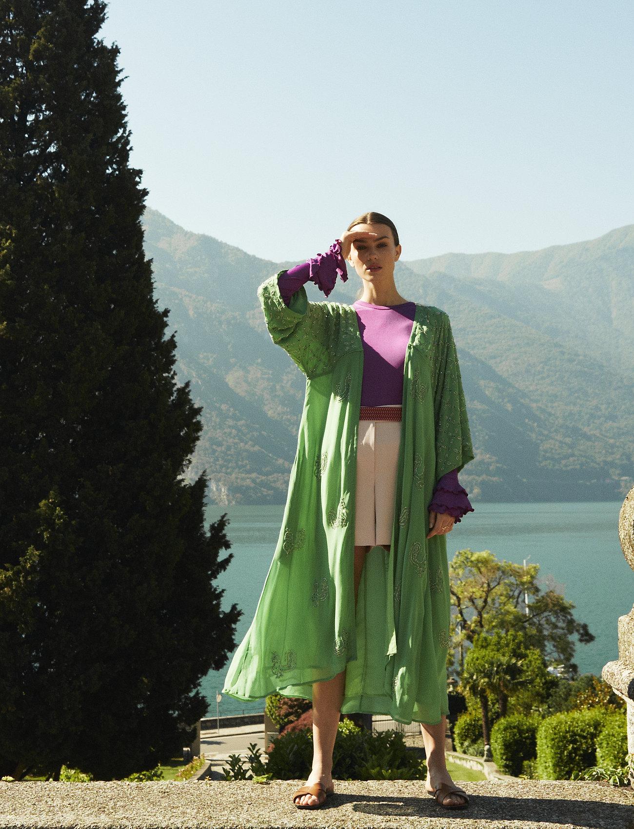 Day Birger et Mikkelsen - Day Regina - kimonos - menta - 0