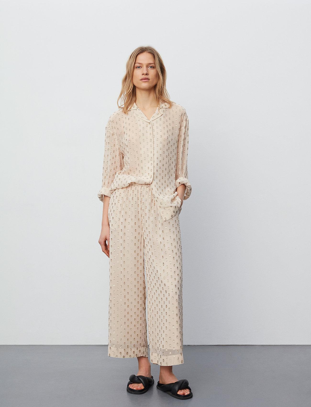 Day Birger et Mikkelsen - Day Lady - bukser med brede ben - ivory shade - 0