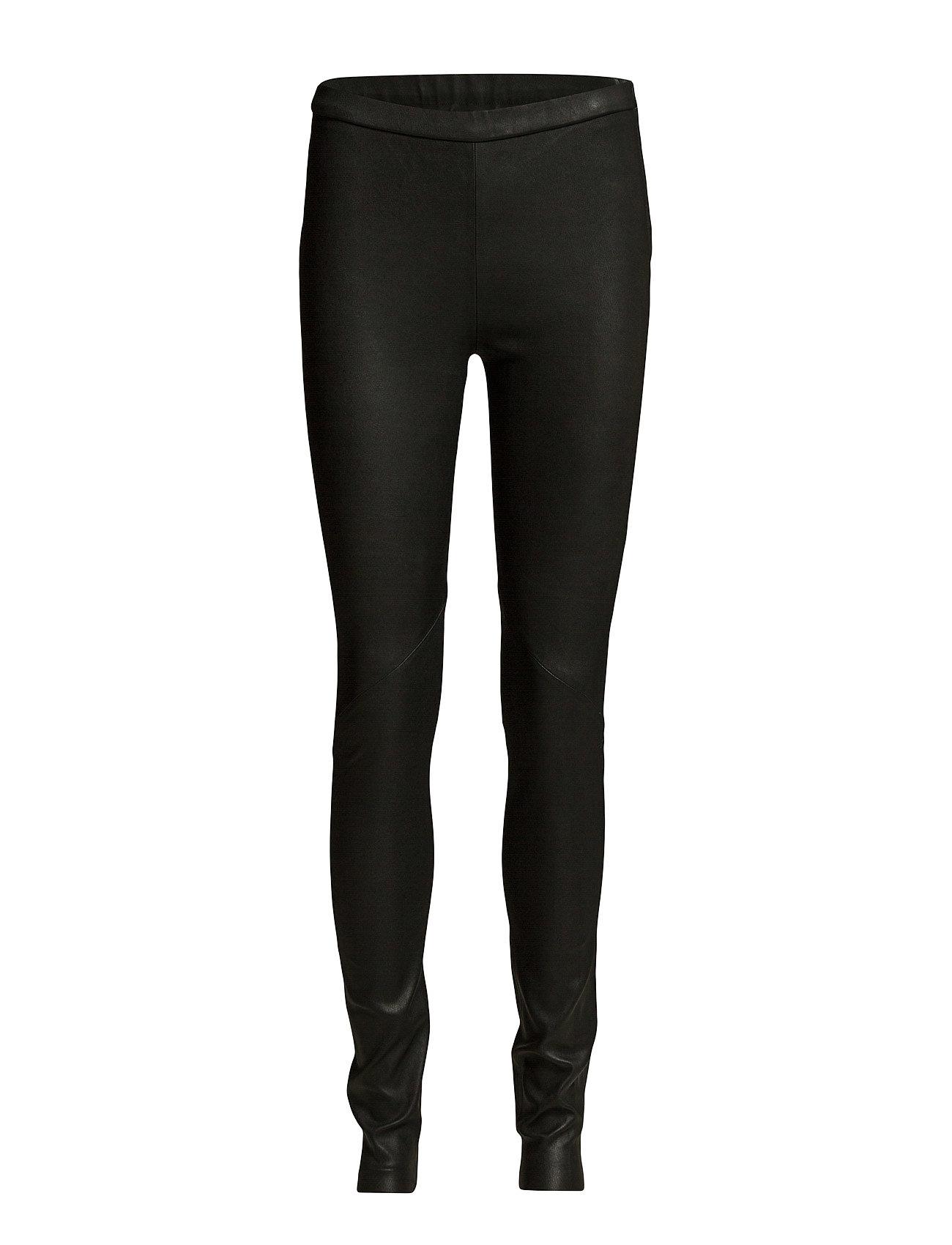 Image of Day Plongy Leather Leggings/Bukser Sort DAY BIRGER ET MIKKELSEN (2613042297)