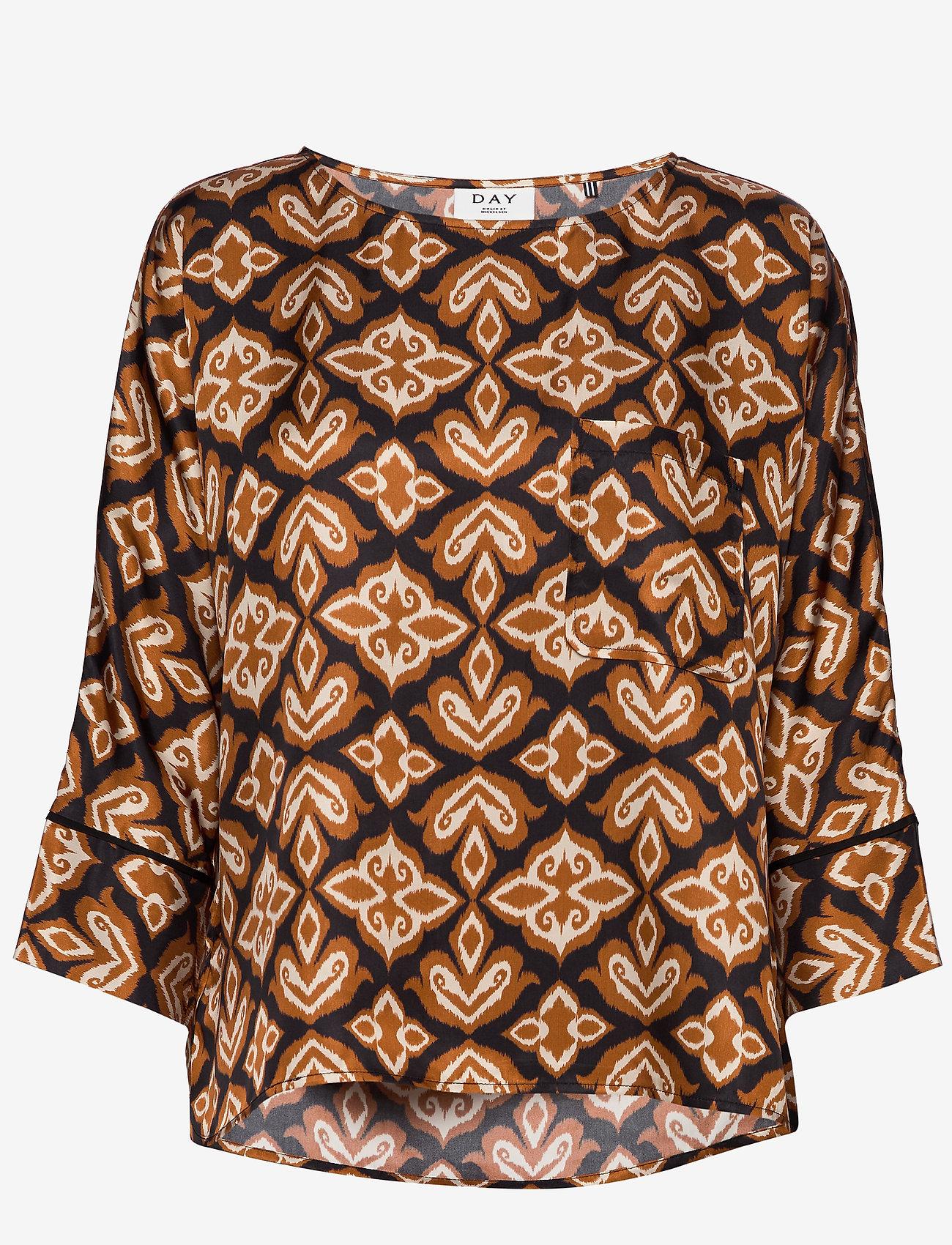 Day Birger et Mikkelsen - Day Forgivable - long sleeved blouses - black - 0
