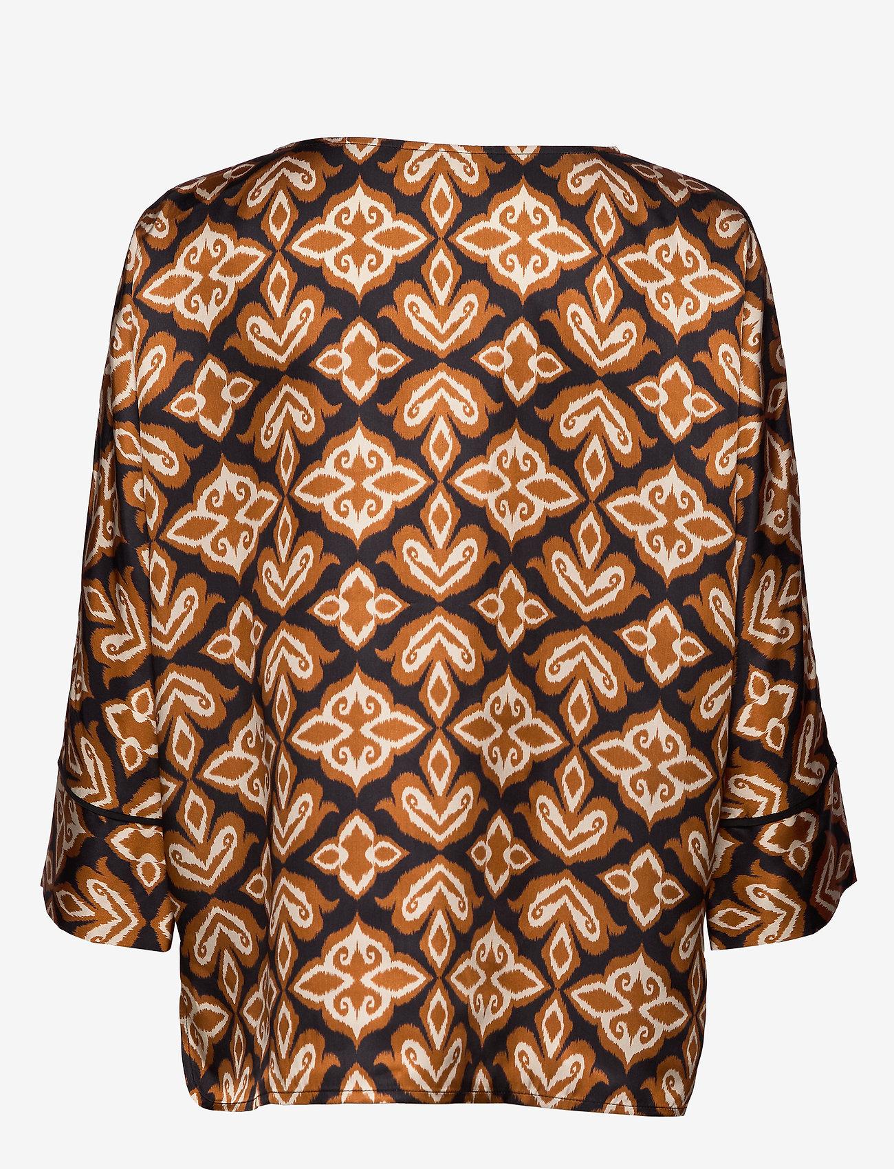Day Birger et Mikkelsen - Day Forgivable - long sleeved blouses - black - 1