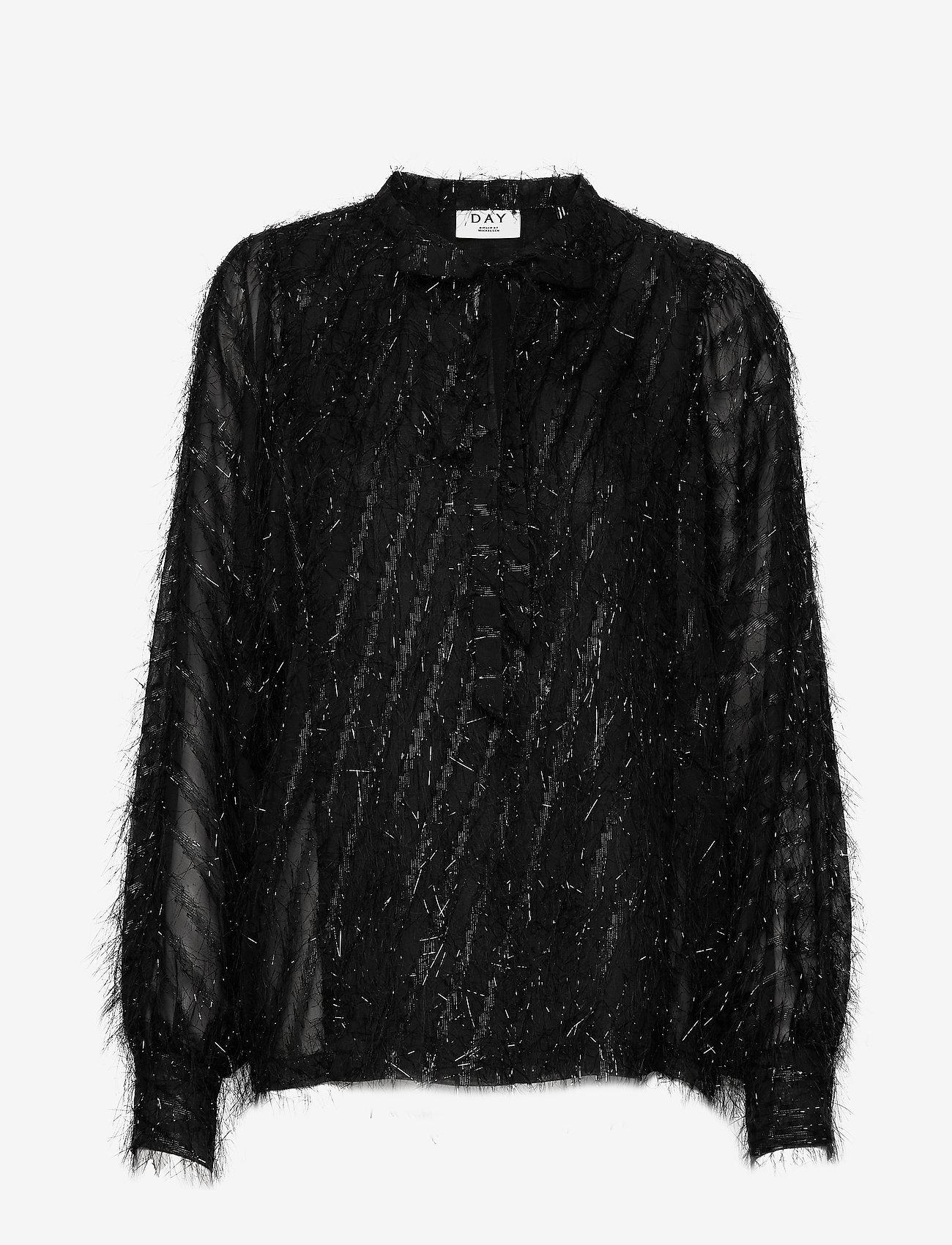 Day Birger et Mikkelsen - Day Deep - long sleeved blouses - black - 0