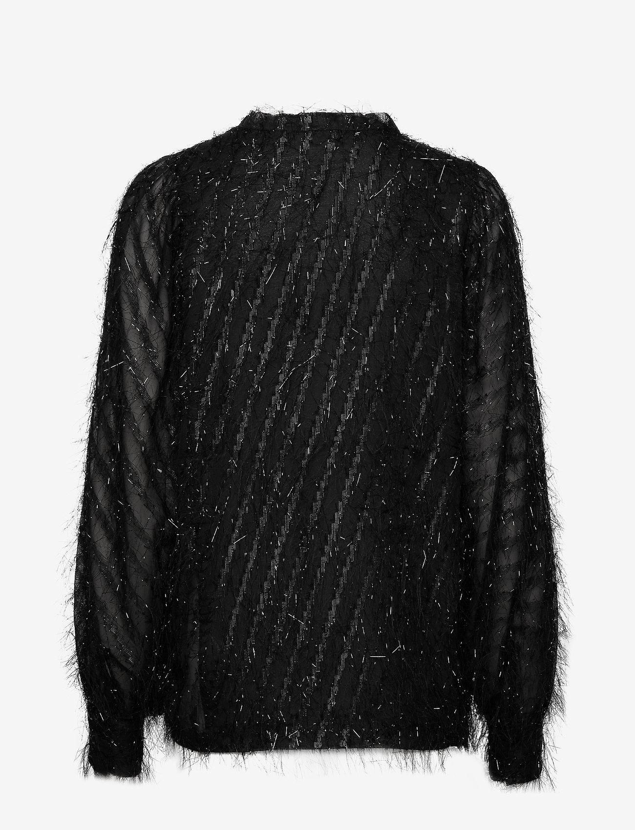 Day Birger et Mikkelsen - Day Deep - long sleeved blouses - black - 1