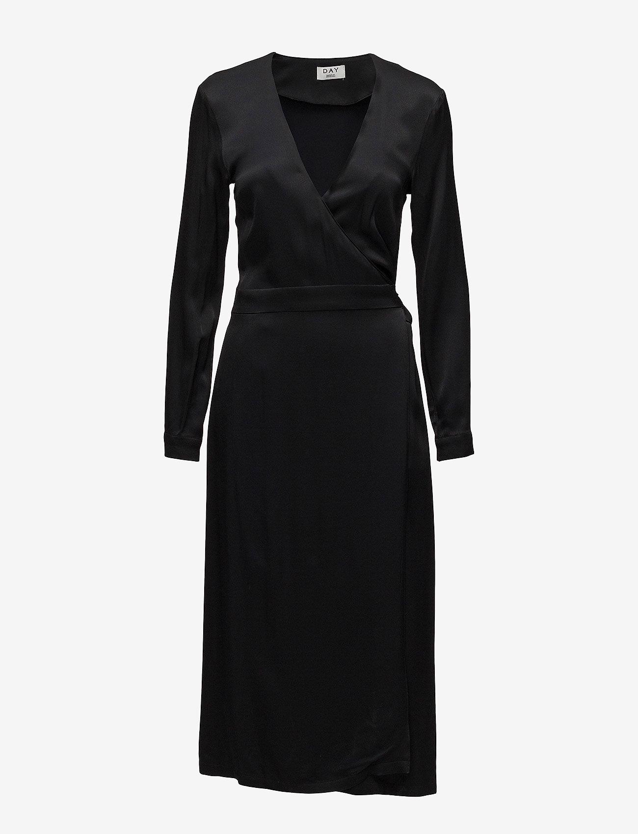 Day Birger et Mikkelsen - Day Nero - slå-om-kjoler - black - 0